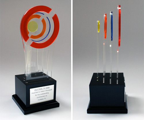 Perspex fabrication and acrylic fabrication bespoke How to design a trophy