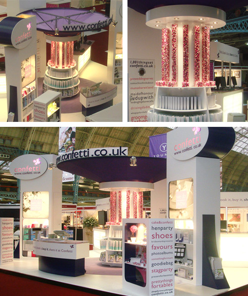 Exhibition Stand Qatar : Perspex fabrication and acrylic exhibition