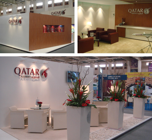 Sungard Exhibition Stand Qatar : Perspex fabrication and acrylic exhibition