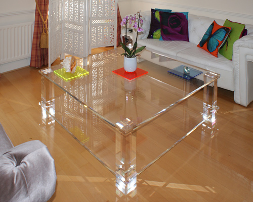 Split Level Coffee Table