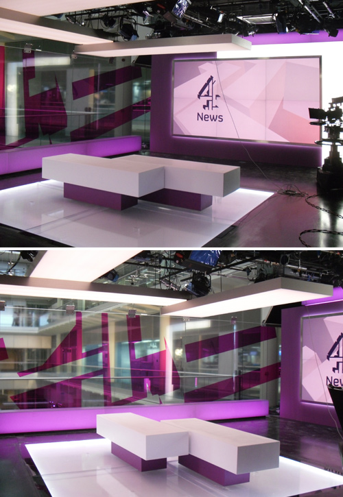 Perspex Fabrication and Acrylic Fabrication TV Projects Inplas